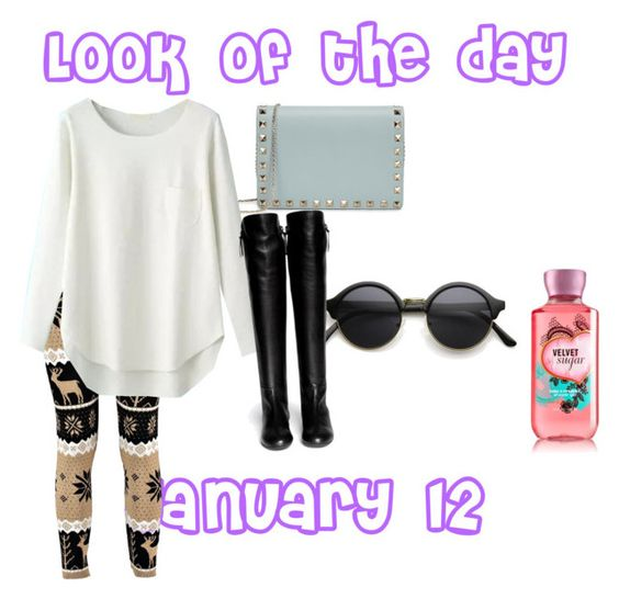 """""""Look of the day 18"""" by gigicr ❤ liked on Polyvore featuring Valentino, Giuseppe Zanotti and lookofthedaygigi"""