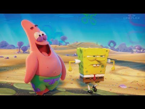 Go Behind The Scenes Of The Spongebob Movie Sponge On The Run Youtube Spongebob Behind The Scenes Spongebob Squarepants