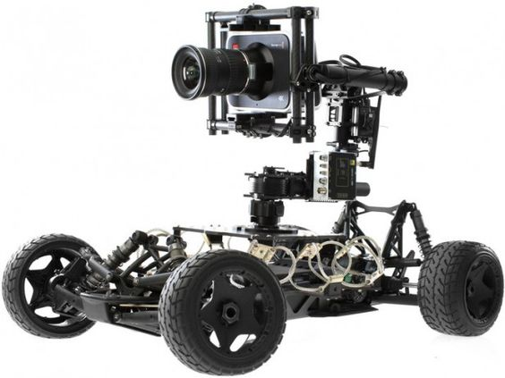 Stabilised RC car by Movi - Freefly Tero