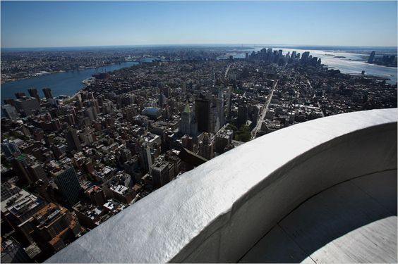 The empire state building zeppelin docking terrace is for 4 church terrace docking