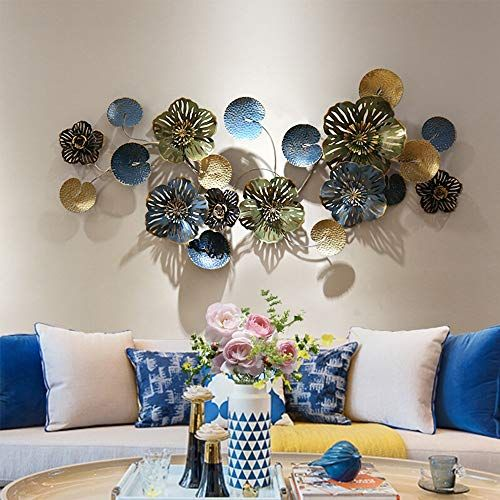 Metal Decoration Wall Decor Flower Shaped Wall Art Sculpture Elegant Hollowed Designed Metal Wall Ha In 2020 Wall Sculpture Art Abstract Metal Wall Art Tree Wall Decor