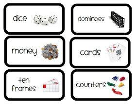Free Math Labels