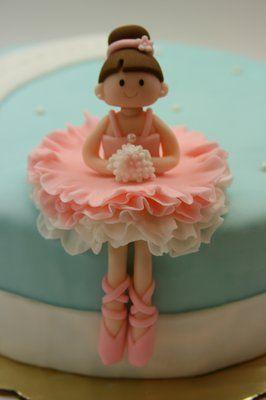 Fondant ballerina