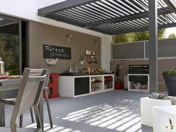 am nager sa terrasse 2 cuisine d 39 t pinterest ps et merlin. Black Bedroom Furniture Sets. Home Design Ideas