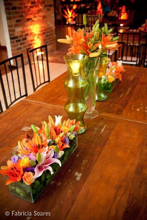 mundo da lili: Decoração rústica para casamento