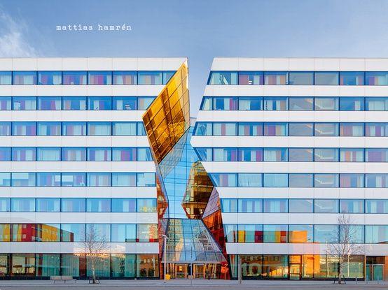 Arkitektur arkitektur sweden : Ericsson Kista Kontorsbyggnad Stockholm #arkitektur #sweden ...