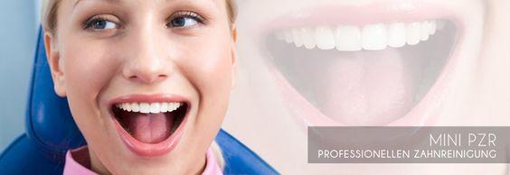 Für die Eiligen unter Ihnen bieten wir mit der Mini PZR ( professionelle Zahnreinigung ) eine Intensiv-Reinigung der kompletten ästhetischen Zone.   Manche Patienten, insbesondere Raucher, haben ein erhöhtes Interesse an sauberen Frontzähnen, weil diese durch Nikotinablagerungen meist deutlicher betroffen sind als Backenzähne. Unsere Mini PZR Behandlung ist eine Intensiv-Reinigung der kompletten ästhetischen Zone.