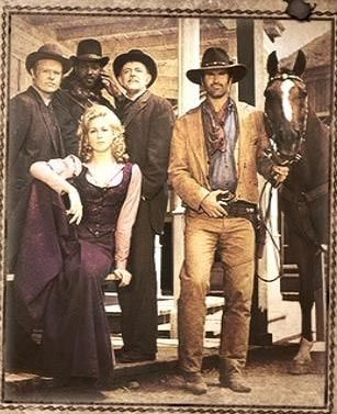"""Adventures of Brisco County, Jr. -- Comet the Wonder Horse, Pete's """"piece"""", the Swill brothers, Sheriff Viva, and the Orb -- what more can I say"""