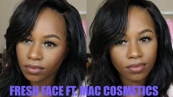 WOC Simple Everyday Makeup   MAC Cosmetics   One Brand Tutorial