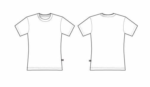 Download High Performance Sublimated Podium T Shirt Full Coverage Printing Tshirt Template Shirt Template T Shirt Design Template