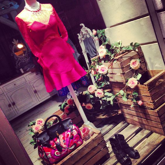 La Vie est Rose SS2014-Three Floor dress