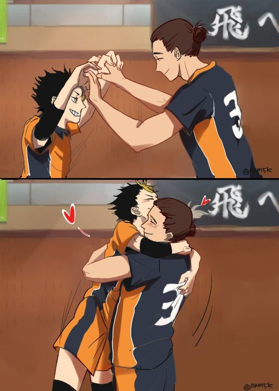Haikyuu, Nishinoya yuu and Kawaii on Pinterest