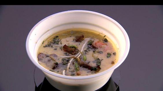 Bouillon thai lait de coco et citronnelle - Marc de Masterchef