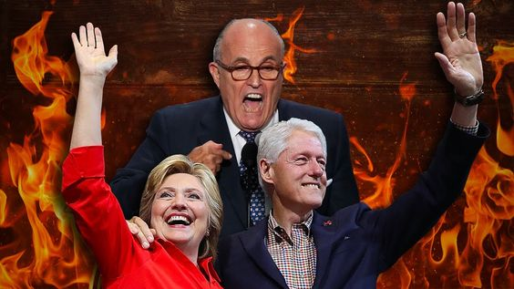 """Giuliani Says Hillary """"Too Stupid"""" To Be President Because She Didn't Di..."""