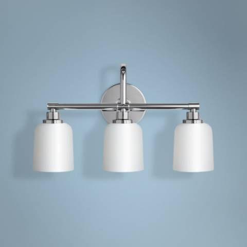 Feiss Reiser 20 3 4 Wide Light Chrome Bath 19d31