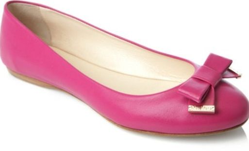 2. Pink ballerinas