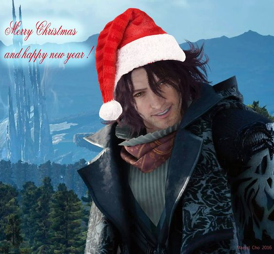 Merry Christmas and happy new year! XD