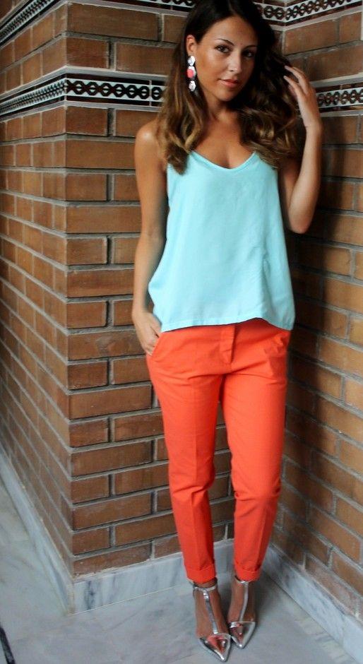Zara  Camisas / Blusas and Zara  Pantalones