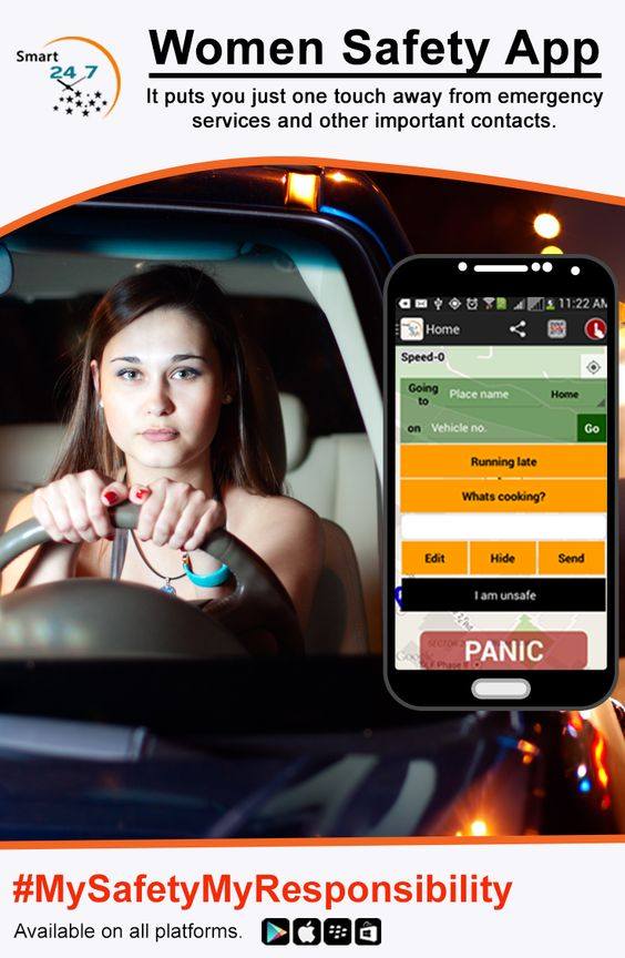 Smart24x7 App Made For Your Safety!!!  Smart24x7 Safety App allows your friends and family to virtually accompany your journey and offers a lot more features to make your trip safer.