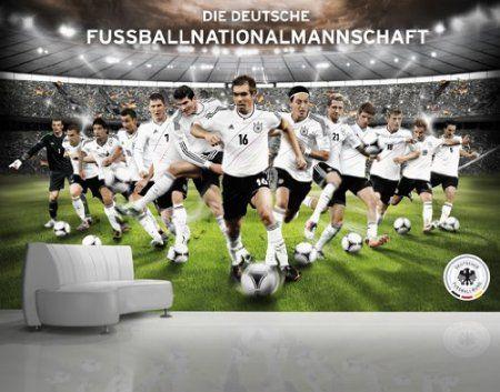 Fototapete – Papier No.401 DFB – Deutsche Nationalmannschaft 400x280cm für 27,95 Euro