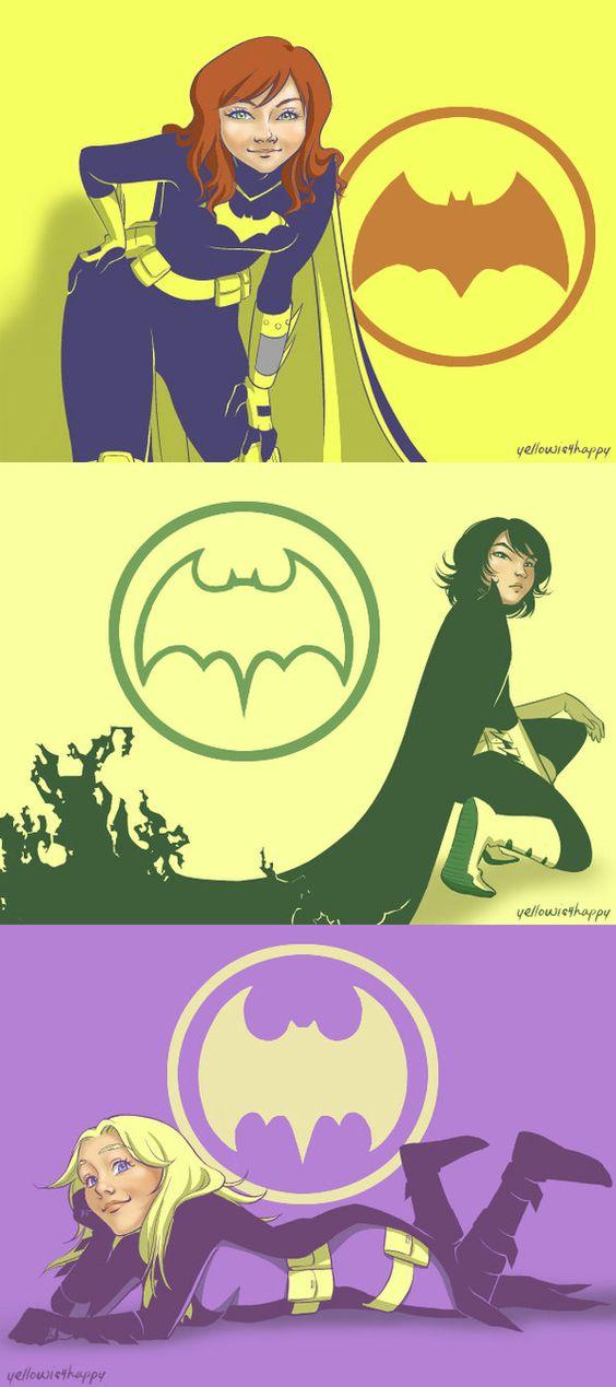 DC: Batgirl, Inc. by ~yellowis4happy on deviantART