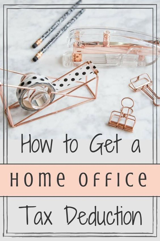 Homee office tax deduction