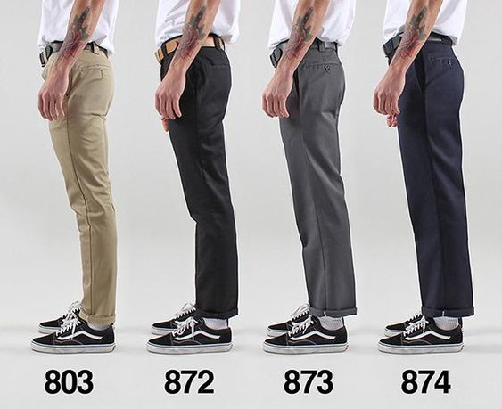 Its a common question, How do Dickies Work Wear Pants fit? We have compiled a Dickies Work Wear pant fit guide made up of the 4 key trouser styles to give you an idea as to the fit and style. We feature the Dickies 803, 872, 873 and 874 Work Pants in images and our videos to give you the best idea of how Dickies fit.
