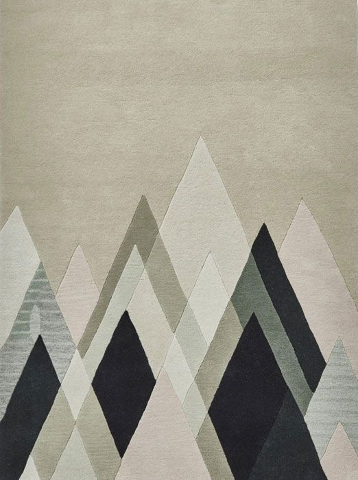 The Stand Tall Mc21 Designer Rug By Michelle Collins Features A Geometric Abstract Design In Fashionable Beige Black Grey And Contr Rug Design Rugs Rugs Uk