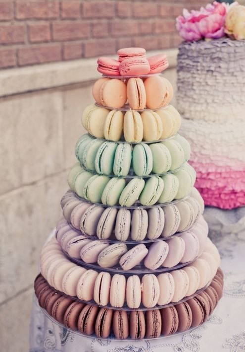 10 Tier Macaron Tower Or Display Stand For French By Simplebaker Macaron Tower Cheap Wedding Cakes Wedding Cake Alternatives