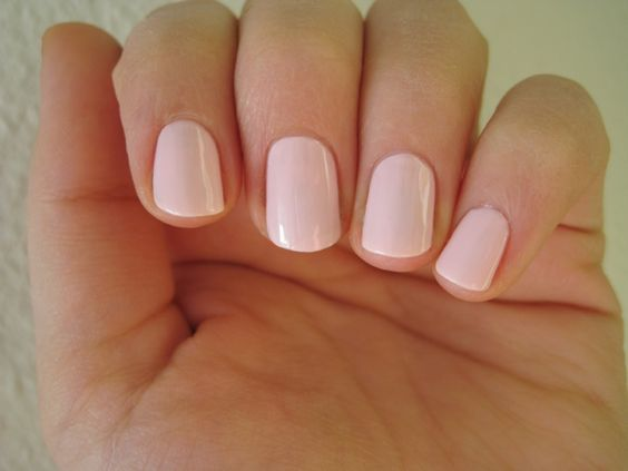 CND Tutu Shellac I always ask for this one for a sheer and clean look.