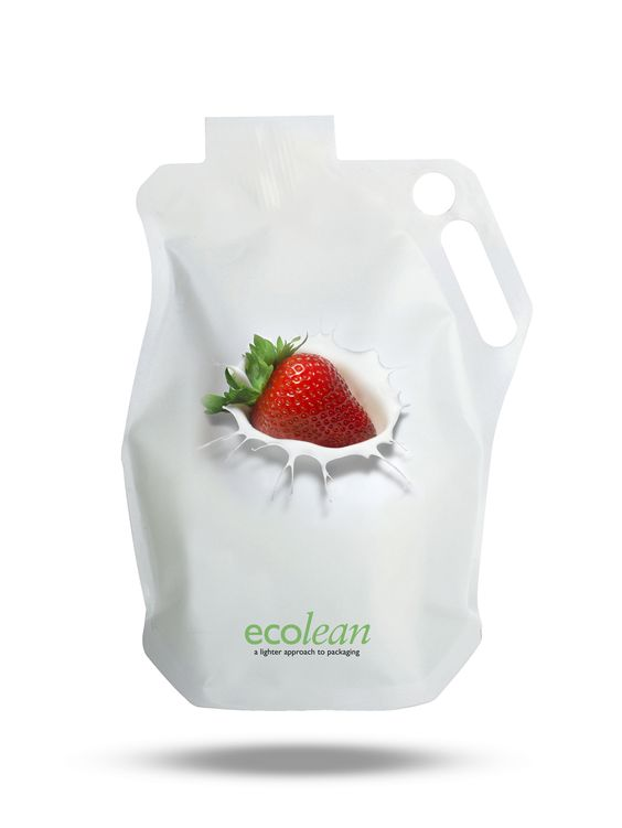 Ecolean Base package | Ecolean liquid food container - weighs approximately 50-60% less than a conventional liquid food carton | ecolean.com: