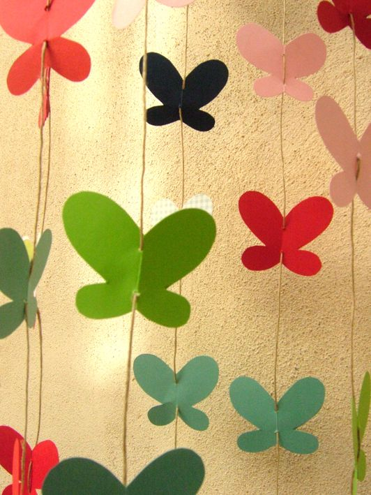 Butterflies miss penny pinterest heno papillons y for Decoracion primavera manualidades