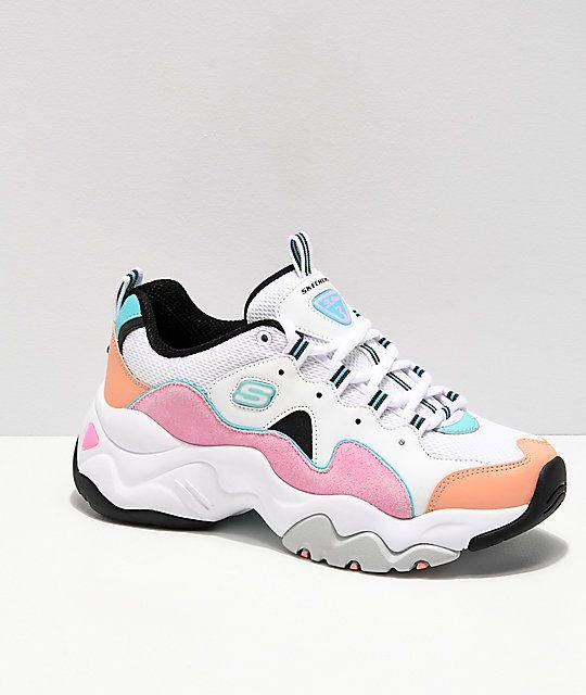 SKECHERS Sneaker, multicolor auf
