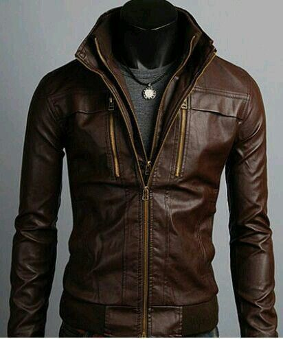 Treatment for leather jackets