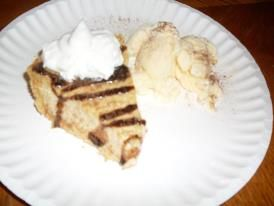... cinnamon on top and serve with whipped cream and cinnamon ice cream! i