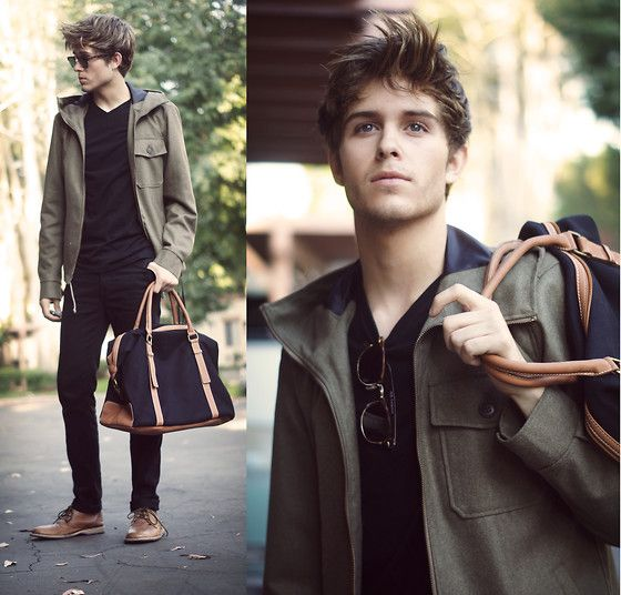 A couple of days ago I discovered Lookbook, an epic site that lets you share fashion with others... are you pinterested?   oh boy, is this guy cute :)