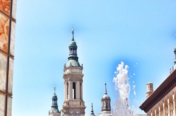 Detalls de la Basílica del Pilar a #zaragoza #igerszaragoza #architecture #details #vacation #instaday