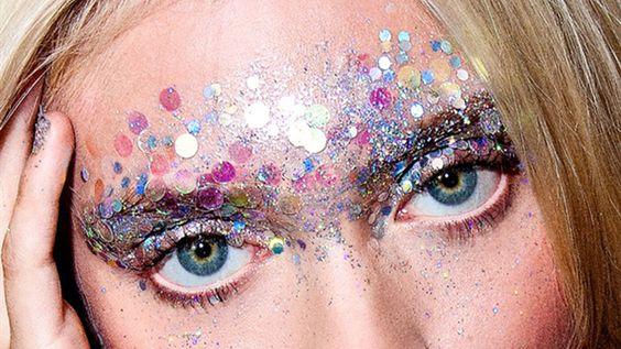 glitter make up festival - Google Search: