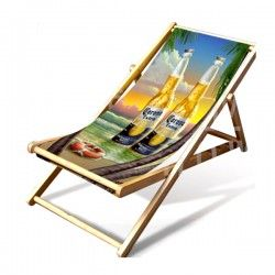Colorful folding chair