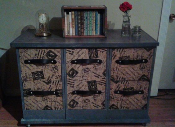 After: Industrial Shabby Chic