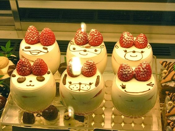 Kawaii puding by dream of japan on tumblr