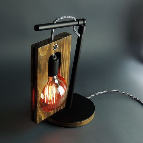 Pin By Colibri W On Krovat Wooden Table Lamps Wood Lamp Design Wooden Lamp