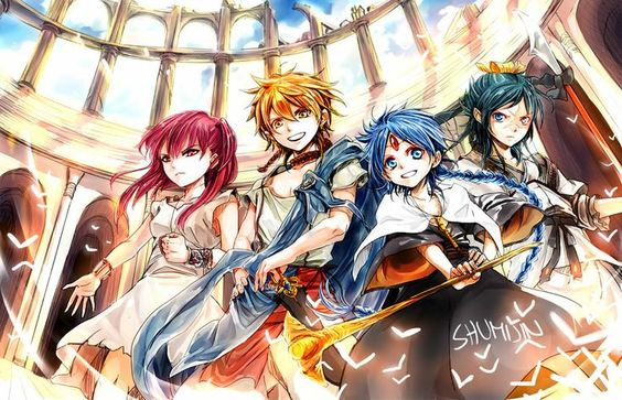 Magi:The Labyrinth Of Magic