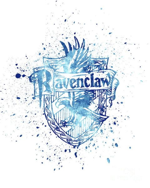 Harry Potter Ravenclaw House Silhouette With Images Harry