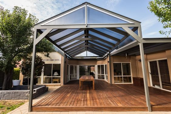 Outdoor living space and timber deck created by ACT Decks