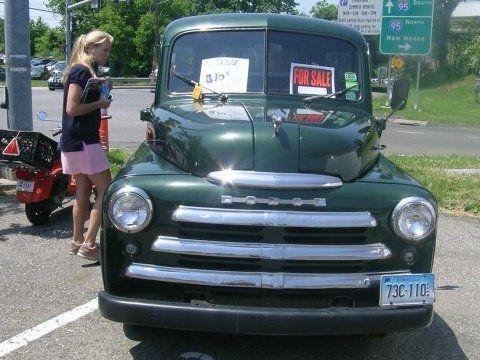 1950 dodge b2b 1 ton 5 window pick up truck for sale front like pinterest 39 salem 39 s lot. Black Bedroom Furniture Sets. Home Design Ideas