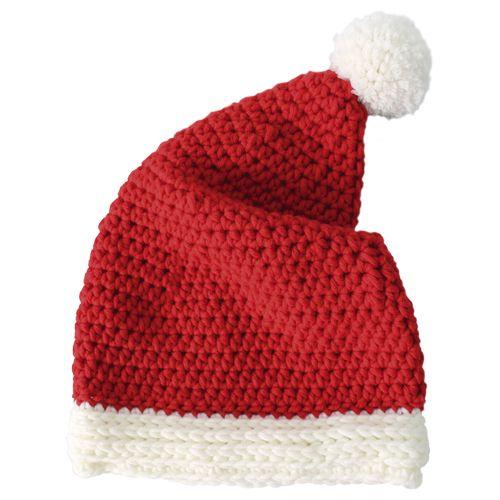 Mit unserer gehäkelten Nikolausmütze trägt der Weihnachtsmann Boshi: Jetzt…
