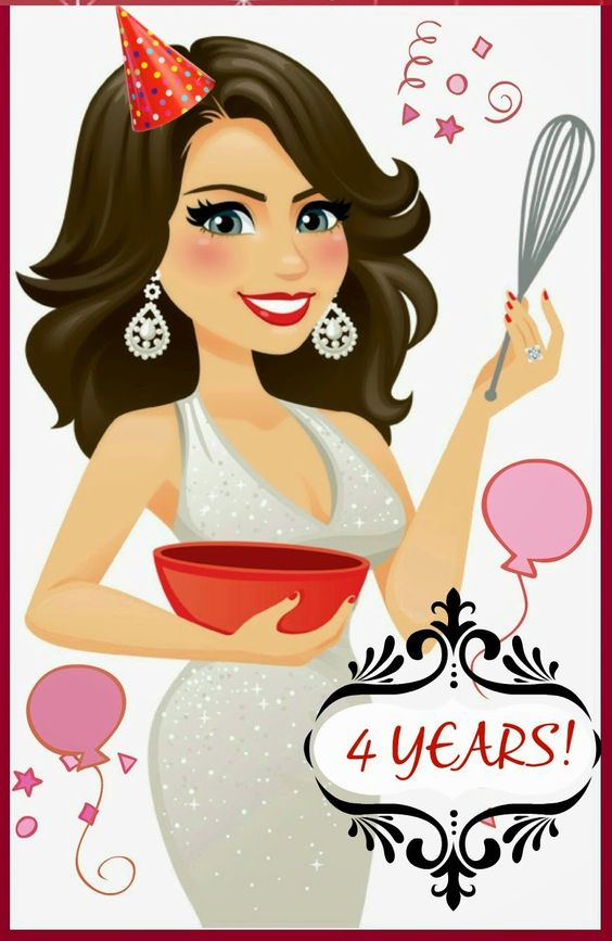 The Cooking Actress: The Cooking Actress' 4 Year Blogiversary Mega GIVEAWAY+ Reader Survey!