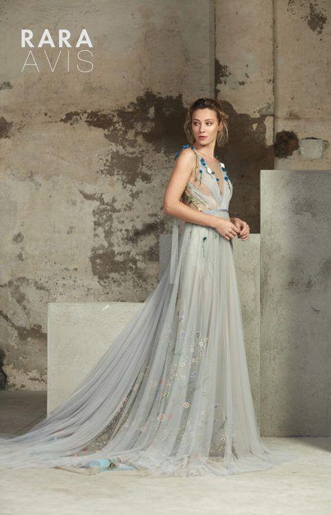 Lofgrein | Green wedding dresses, Blue