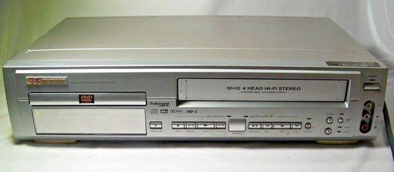 go video dv1140 dvd vcr combo player video cassette recorder vhs rh pinterest com Emerson EWD2004 Manual Product DVD VCR Combo